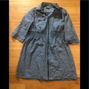 Dark Blue & White Dress Size XL